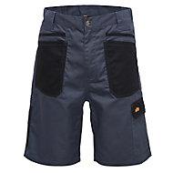 "Site Harrier Black & grey Shorts W32"""