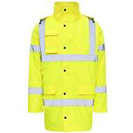 Yellow Hi-vis jacket X Large