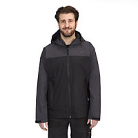 Site Black & grey Waterproof jacket Large