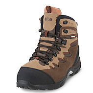 Site Elbert Brown Trainer boots, Size 8