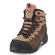 Site Elbert Brown Trainer boots, Size 9