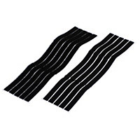 Diall Black Cable tie (L)280mm, Pack of 5