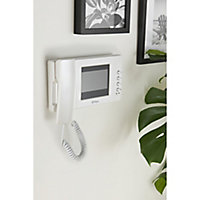 Blyss Wired - 2 wires Video intercom system Silver & white