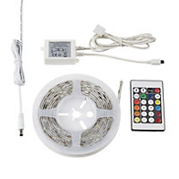 Colours Downey Mains powered LED Strip light IP20