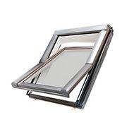 Site Anthracite Aluminium Alloy Roof window (H)1180mm (W)780mm