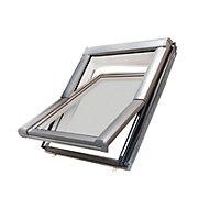 Site Anthracite Aluminium Alloy Roof window (H)780mm (W)540mm