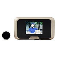 Blyss Wired Video intercom system Black & gold
