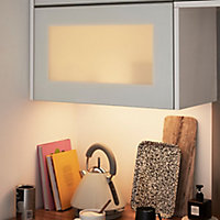 GoodHome Caraway White Cabinet light
