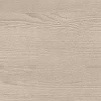 GoodHome 38mm Kala Matt White Wood effect Laminate & particle board Square edge Kitchen Breakfast bar Breakfast bar, (L)2000mm