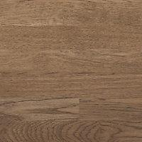 40mm Hinita Natural Solid oak Square edge Kitchen Island Worktop, (L)3000mm