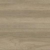 GoodHome 12mm Nepeta Matt Wood effect Paper & resin Square edge Kitchen Worktop, (L)3000mm
