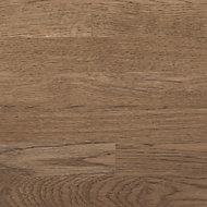 GoodHome Hinita Matt Natural Dark wood effect Solid oak Upstand (L)3000mm
