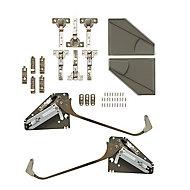 GoodHome Bi fold kit B Grey Soft-close Open & close mechanism