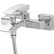 GoodHome Hopa Chrome-plated Bath Shower mixer Tap