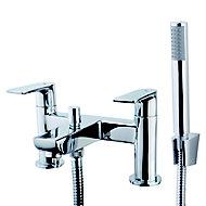 GoodHome Osani Chrome-plated Bath Shower mixer Tap