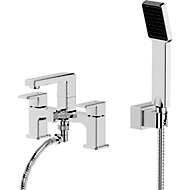 GoodHome Wydon Chrome-plated Bath Shower mixer Tap