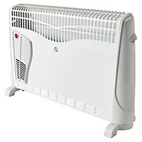 Electric 2500W White Convector heater