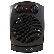 2000W Black Fan heater