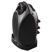 2000W Black Fan heater