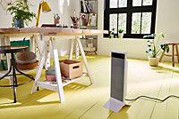 Blyss Electric 2400W White PTC Heater