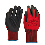 Site Nitrile General handling gloves, Large