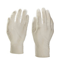 Vinyl Disposable gloves, Large