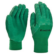 Verve Polyester (PES) Green Gardening gloves, X Large