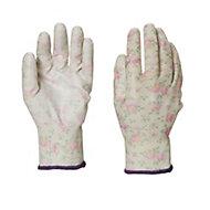 Verve Polyester (PES) Lilac Gardening gloves, Medium