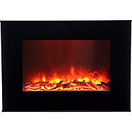 Lingga Black Electric Fire