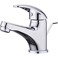 GoodHome Eidar Chrome plated Basin mixer tap