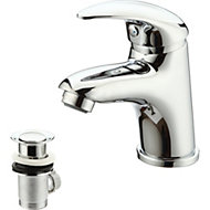 GoodHome Blyth 1 Lever Basin mixer tap