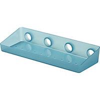 GoodHome Koros Plastic Blue Basket