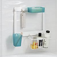 GoodHome Koros Blue Plastic Tumbler