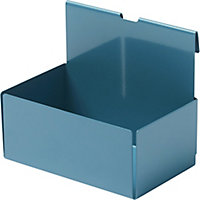 GoodHome Amantea Stainless steel Blue Box