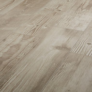 Pine wood Greige Matt Wood effect Porcelain Floor tile, Pack of 8, (L)800mm (W)200mm