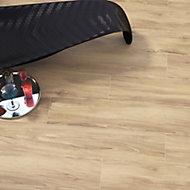 Woodproject Natural Matt Wood effect Porcelain Floor tile, Pack of 4, (L)1200mm (W)233mm