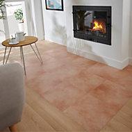 Cotto Terracotta Satin Terracotta effect Ceramic Floor tile, Pack of 14, (L)338mm (W)338mm