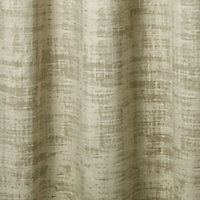 Ruvor Beige Abstract Blackout Eyelet Curtain (W)167cm (L)183cm, Single