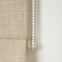 Soyo Corded Light beige Woven Unlined Roman Blind (W)120cm (L)160cm