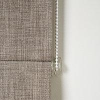Soyo Corded Beige Woven Unlined Roman Blind (W)120cm (L)160cm