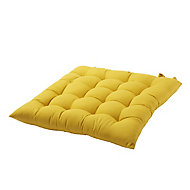 Hiva Yellow Plain Seat pad