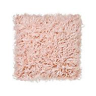 Joyau Faux fur Pink Cushion