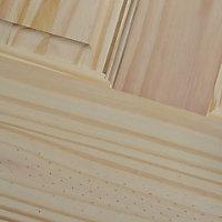 6 panel Knotty pine LH & RH Internal Door, (H)2040mm (W)826mm