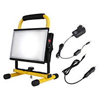 Diall LED Portable Rechargeable Work Light 30W