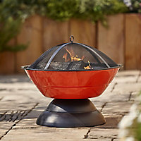 Blooma Tinaga Steel Firepit