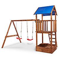 Blooma Janek Wooden Swing set