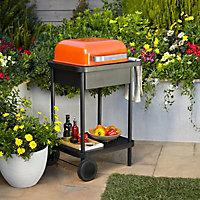Rockwell 200 Orange Charcoal Barbecue
