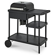 Rockwell 210 Black Charcoal Barbecue