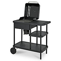 Blooma Rockwell 210 Black Charcoal Barbecue