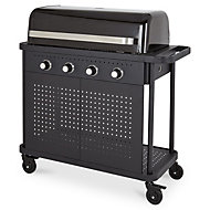 Rockwell 400 4 Burner Black Gas Barbecue